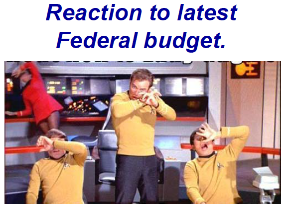 US budget deficit even scares Capitan Kirk
