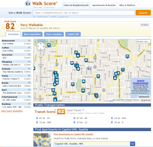 How walkable is your apartment building investment?