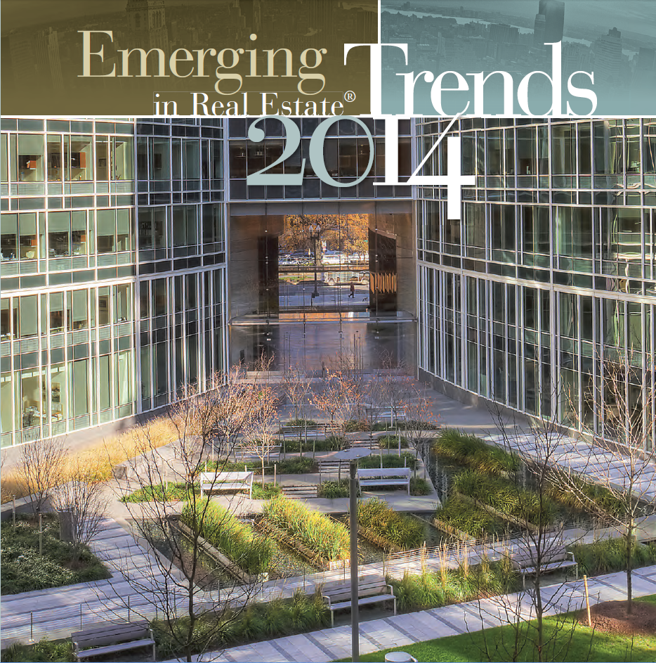 2014 Emerging Trends for Apartment Building Investors and Commercial Real Estate report from ULI